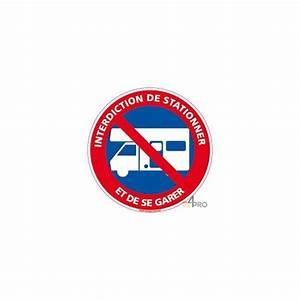Panneau Interdit De Stationner : panneau interdiction aux caravanes de stationner et de se ~ Dailycaller-alerts.com Idées de Décoration
