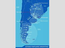 Argentina Mapa Puertos Pictures to Pin on Pinterest