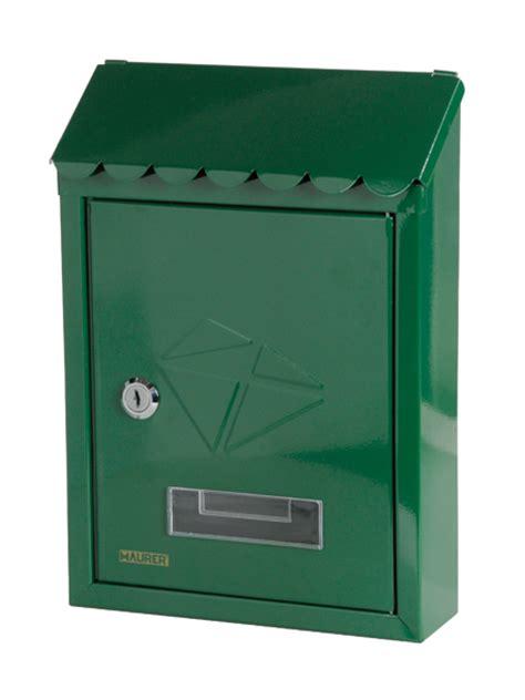 Cassetta Per Posta by Cassetta Per Posta Verde Per Esterni Maurer Postale