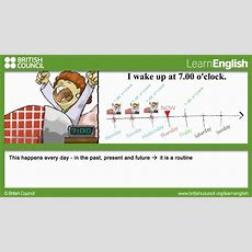 Present Simple For Routines  Johnny Grammar  Learn English  British Council Youtube