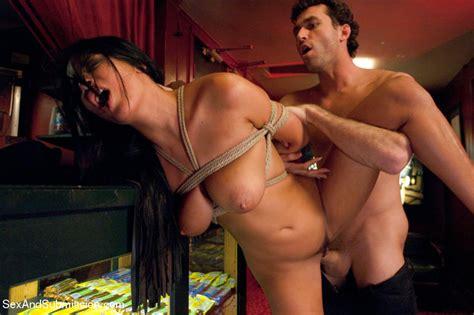 James Deen Threesome Bondage
