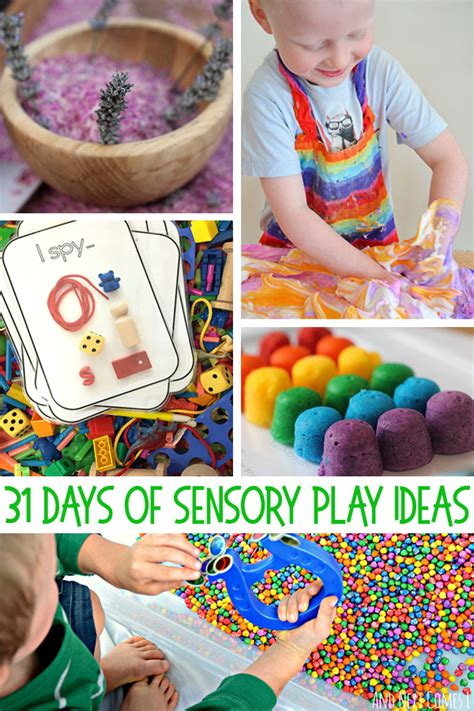31 days of sensory play ideas kid approved childhood101 690 | sensory play ideas