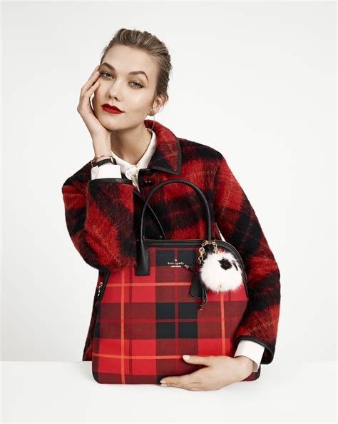 Karlie Kloss Fronts Kate Spade Fall Campaign