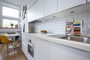Carreau Metro Blanc : carrelage moderne cuisine faences et carrelage mural cuisine carreaux artisanaux pour cuisine ~ Preciouscoupons.com Idées de Décoration
