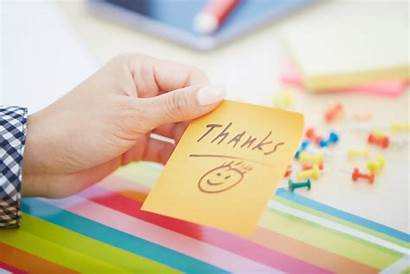 Gratitude Note Friday Happy Letter Workplace Adhesive