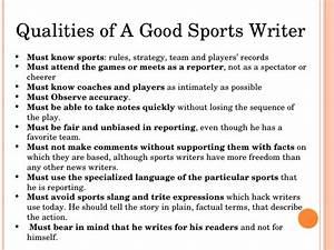 qualities of a good journalist essay