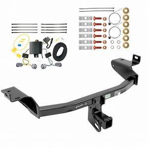 Trailer Tow Hitch For 2019 Jeep Cherokee W   Wiring Harness Kit