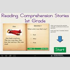 Amazoncom Reading Comprehension Stories 1st Grade Appstore For Android