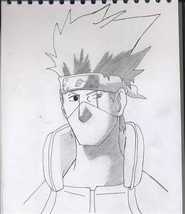 Kakashi pencil drawing by Rexxel on DeviantArt
