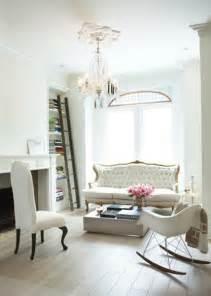 White Chic Living Room