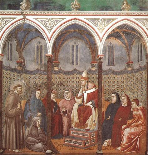 st francis of assisi birth date file giotto legend of st francis 17 st francis preaching before honorius iii jpg