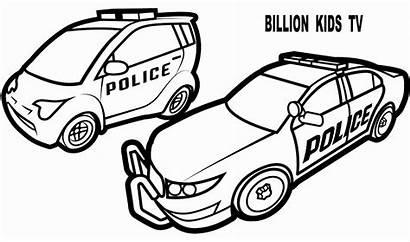 Police Coloring Truck Colorir Carros Transport Malvorlagen