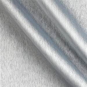 Poly Two Tone Chiffon Silver - Discount Designer Fabric