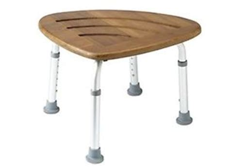 deluxe adjustable height corner shower seat bathroom stool