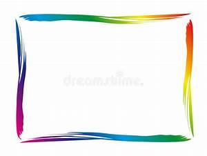 Geschirr Bunter Rand : bunter rand vektor abbildung illustration von regenbogen ~ Michelbontemps.com Haus und Dekorationen