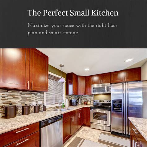 The Perfect Small Kitchen   Work Triangle   Counter Space