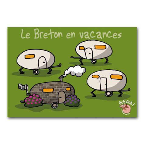 passe plat cuisine och 39 och breton en vacances carte postale