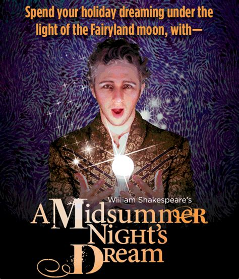 Enjoying A Midsummer Nights Dream By William Shakespeare
