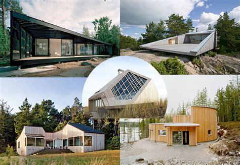 geometric house designs  super sophisticated wood