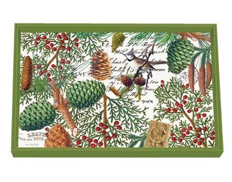 michel design works tablett michel design works lack decoupage klein spruce