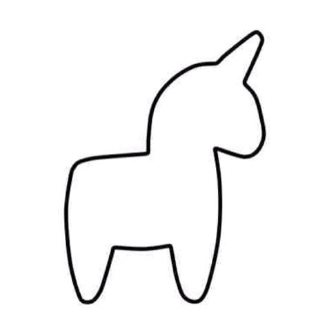 unicorn template 9 best images about unicorn sewing pattern on horns sewing patterns and donkeys