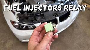 Fuel Injectors Relay Location Replacement Bmw E90 E91 E92