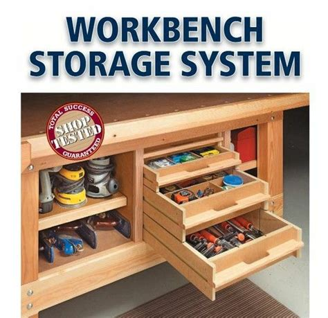 I Could Totally Use This Storage Under My Workbench