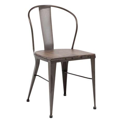 chaise industrielle metal chaise industrielle vintage en métal 631 4 pieds