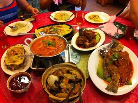 hearty meals hearty meals picture of restaurant atlantic 1 baba nyonya food melaka tripadvisor