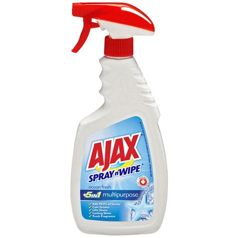 ajax bathroom cleaner coles ajax spray n wipe reviews productreview au