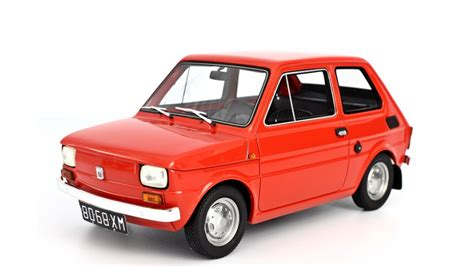 Polski Fiat by Fiat 126 Prima Serie 1972 Model Car 1 18 Laudoracing