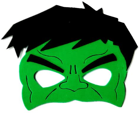 Incredible hulk face template costumepartyrun mascara eva hulk super herois no elo7 art leo brindes maxwellsz