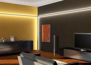 Indirekte Beleuchtung Wohnzimmer Wand : indirekte beleuchtung ~ Sanjose-hotels-ca.com Haus und Dekorationen