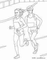 Coloring Athletics Marathon Sport Track Field Colouring Athlete Race Printable Hellokids Runner Athletic Getdrawings Coloringbay Picolour Olympic Jump sketch template