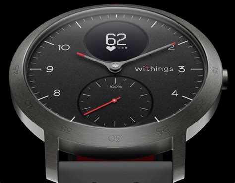withings steel hr sport is the company s nokia smartwatch