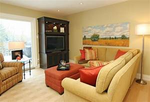 How do you arrange sectional sofa in the living room with for Arrange sectional sofa small living room
