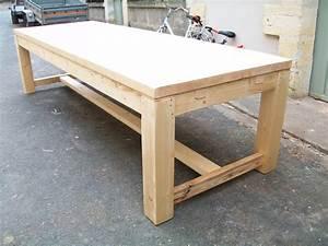 Table Ancienne De Ferme : table de ferme contemporaine ~ Teatrodelosmanantiales.com Idées de Décoration