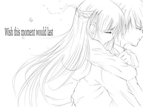 anime hug  tumblr