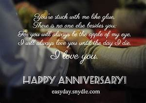 anniversary wishes messages easyday With wedding anniversary message to husband