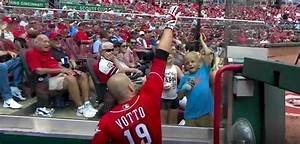 After Joey Votto Cranked His 34th HR of the Year, He Gave ...
