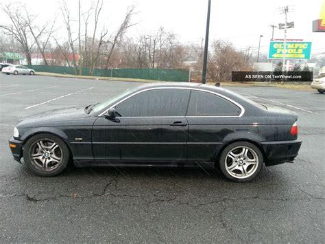 2001 Bmw 330ci Base Coupe 2 Door 3 0l