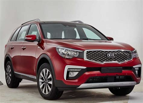 20182019 The New Kia Kx7 Is The Chinese Brother Of Kia