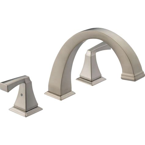delta dryden faucet home depot delta dryden 2 handle deck mount tub faucet trim kit