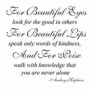 BEAUTIFUL EYES Quotes Like Success