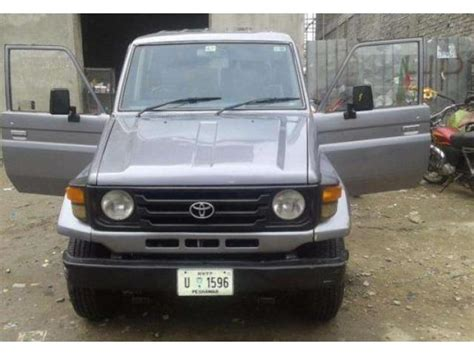 jeep pakistan toyota land cruiser jeep model 1989 for sale in islamabad