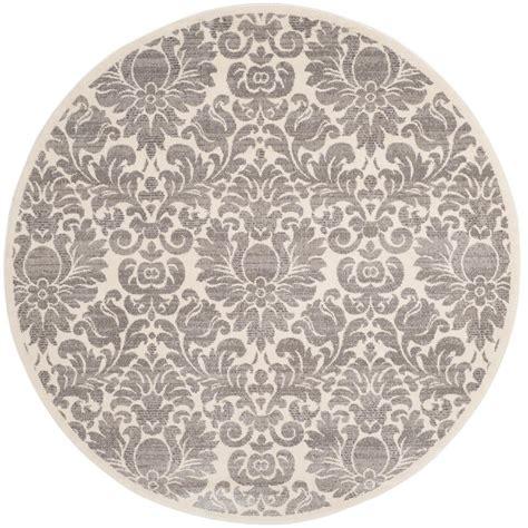 safavieh porcello safavieh porcello gray ivory 6 ft 7 in x 6 ft 7 in