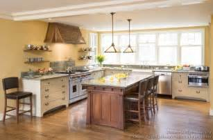 kitchens without islands pictures of kitchens traditional two tone kitchen cabinets page 5