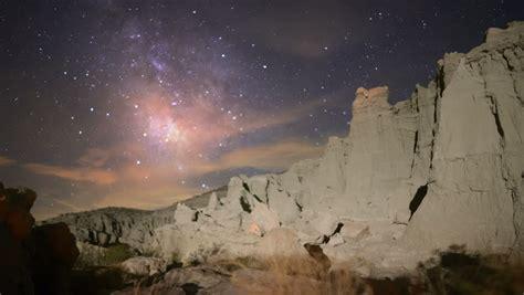 Milky Way Galaxy 77 Zoom In Timelapse Mojave Desert Red