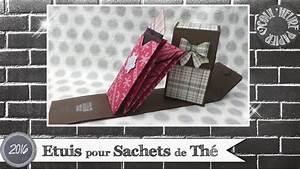 Sachets De Thé À Remplir : vid o tuto etuis sachets de th par coul 39 heure papier youtube ~ Melissatoandfro.com Idées de Décoration