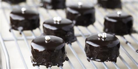 chocolate glazed petit fours recipes food network canada